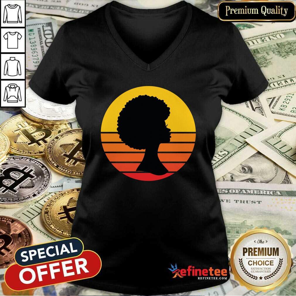 Black Woman Matter Is The Minimum Vintage V-neck