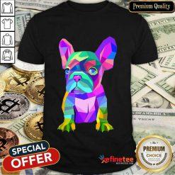 Funny Pop Art Cute French Bulldog Shirt