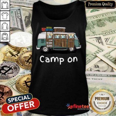 Good Camping Car Camp On Tank Top