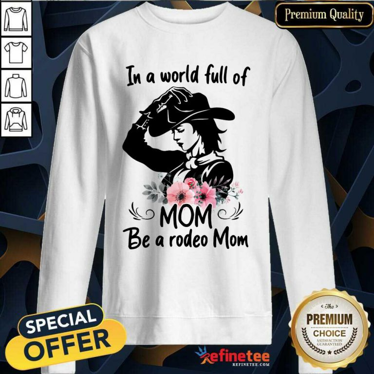 Hot Flower Dog Mom The Woman The Myth The Bad Influence Sweatshirt