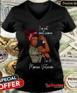 Top Im Am Most Women Im A Marive Vaterdn V-neck