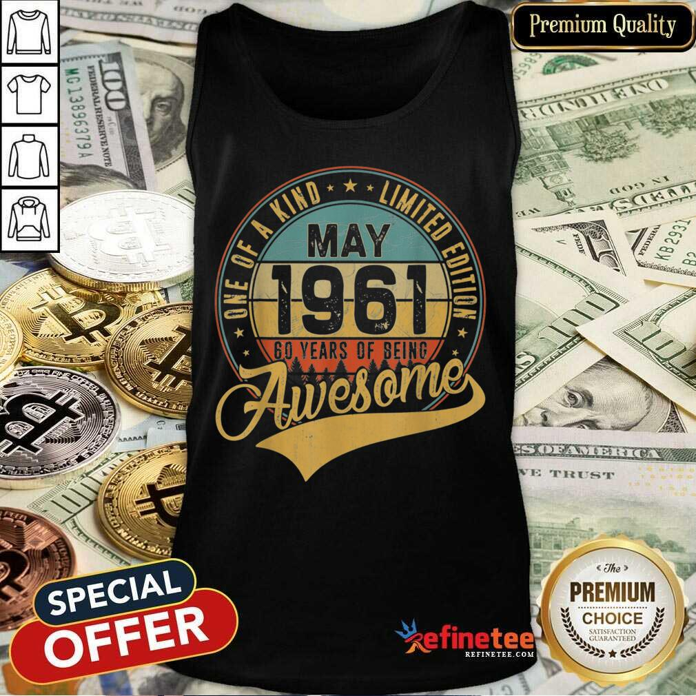 Awesome May 1961 Vintage Tank Top