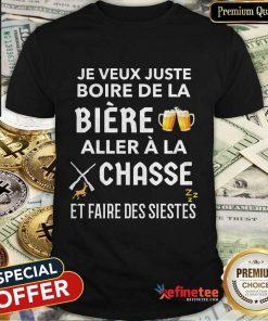Bière Aller À La Chasse Shirt