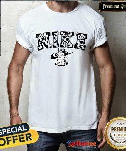 Cow Nike Shirt