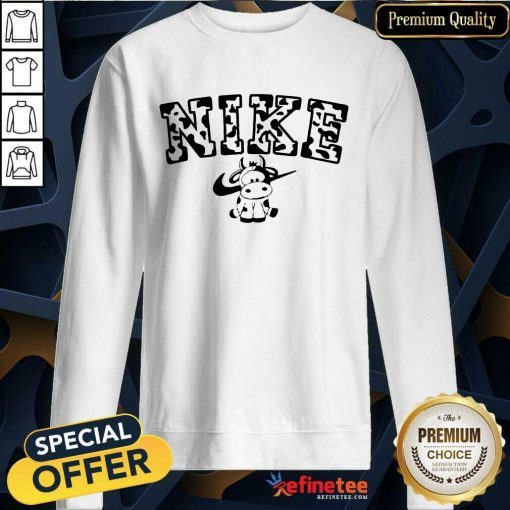 Cow Nike Sweatshirt