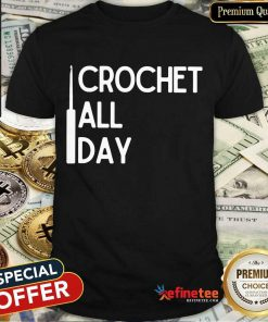 Crochet All Day Shirt