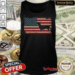 Dachshund American Flag ShirtDachshund American Flag Tank Top