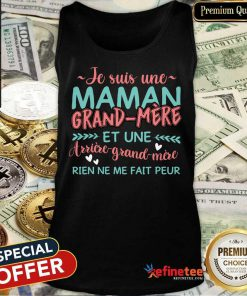 E Suis Une Maman Grand Mere Tank Top