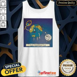 Earth Independence Day Tank Top