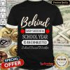 Exhausted School Social Worker Shirt