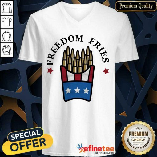 Freedom Fries V-neck