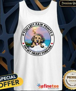 Golden On My Heart Forever Tank Top