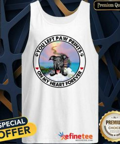 Greyhound On My Heart Forever Tank Top