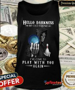 Hello Darkness Bowling American Tank Top