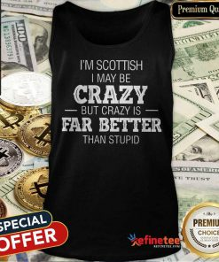 I'm Swedish I May Be Crazy Tank Top