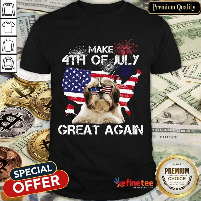 Make 4th Of July Yorkshire Terrier Shirt