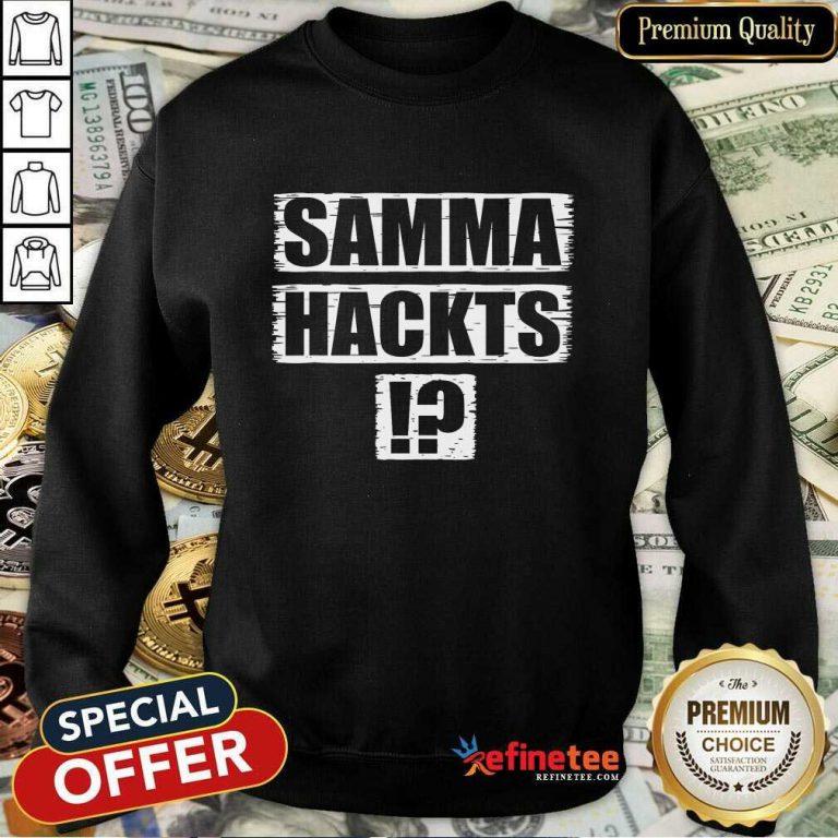 Samma Hackts Sweatshirt