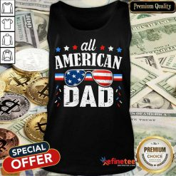 All American Dad 4th Of July Tank Top
