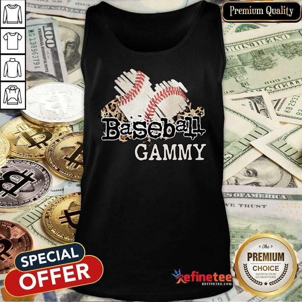 Baseball Gammy Tank Top