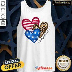 Heart USA Leopard 2nd Grade Teacher Tank Top