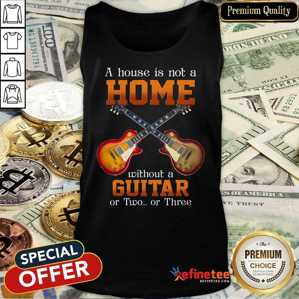 House Without A Guitar Tank Top
