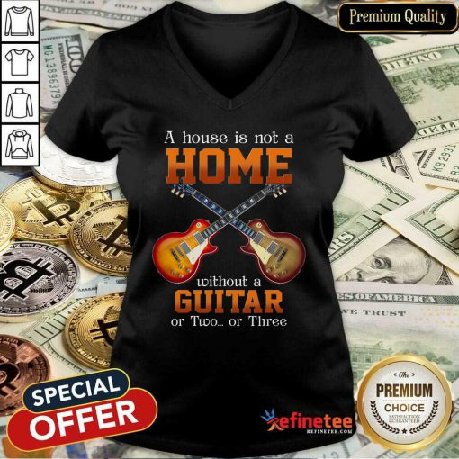 House Without A Guitar V-neck