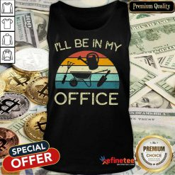 I'll Be In My Office Vintage Tank Top