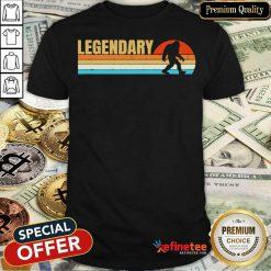Legendary Bigfoot Vintage Shirt