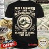 Papa And Grandson And Granddaughter Best Partner In Crime For Life Shirt