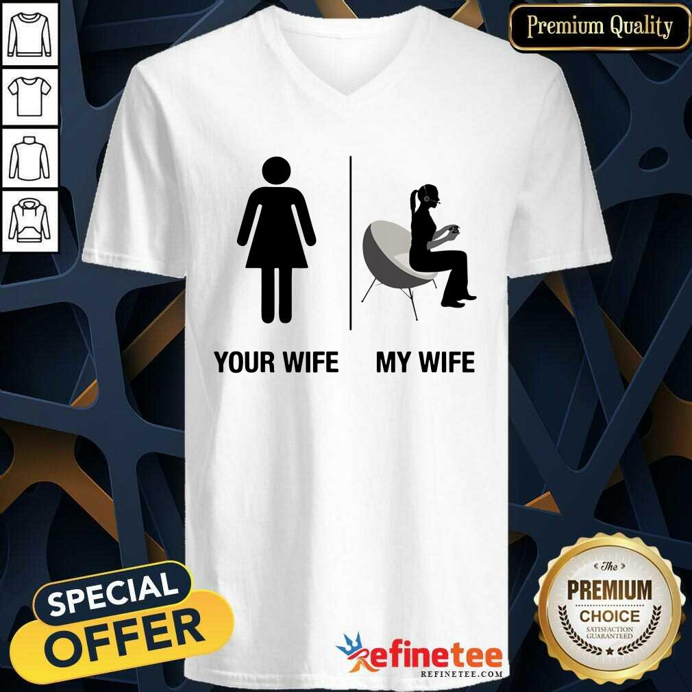 Your Wife My Wife V-neck