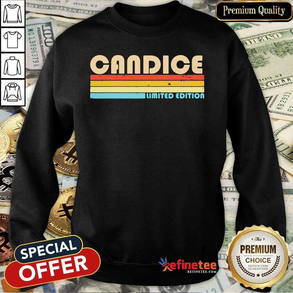 Candice Limited Edition Vintage Sweatshirt