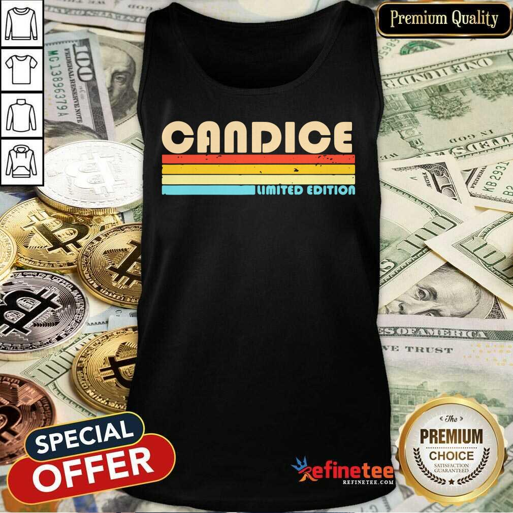 Candice Limited Edition Vintage Tank Top
