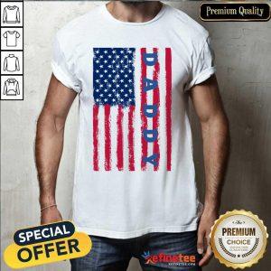 Hot Daddy American Flag Shirt