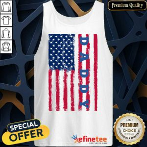 Hot Daddy American Flag Tank Top