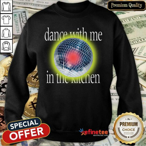Lany Disco Dance With Me In The Kitchen Sweatshirt