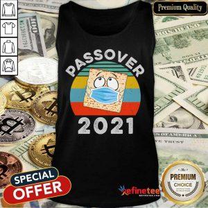 Passover Seder Face Mask 2021 Vintage Tank Top