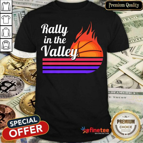 Rally In The Valley Basketball Shirt