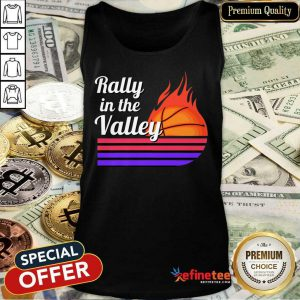 Rally In The Valley Basketball Tank Top