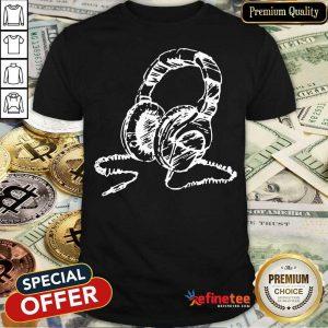 Top DJ Headphones Shirt