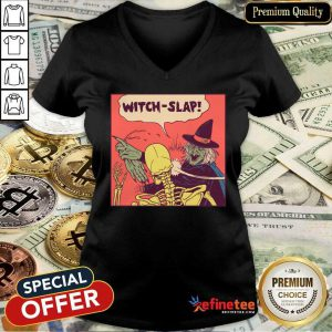 Witch-Slap Batman Slap V-neck